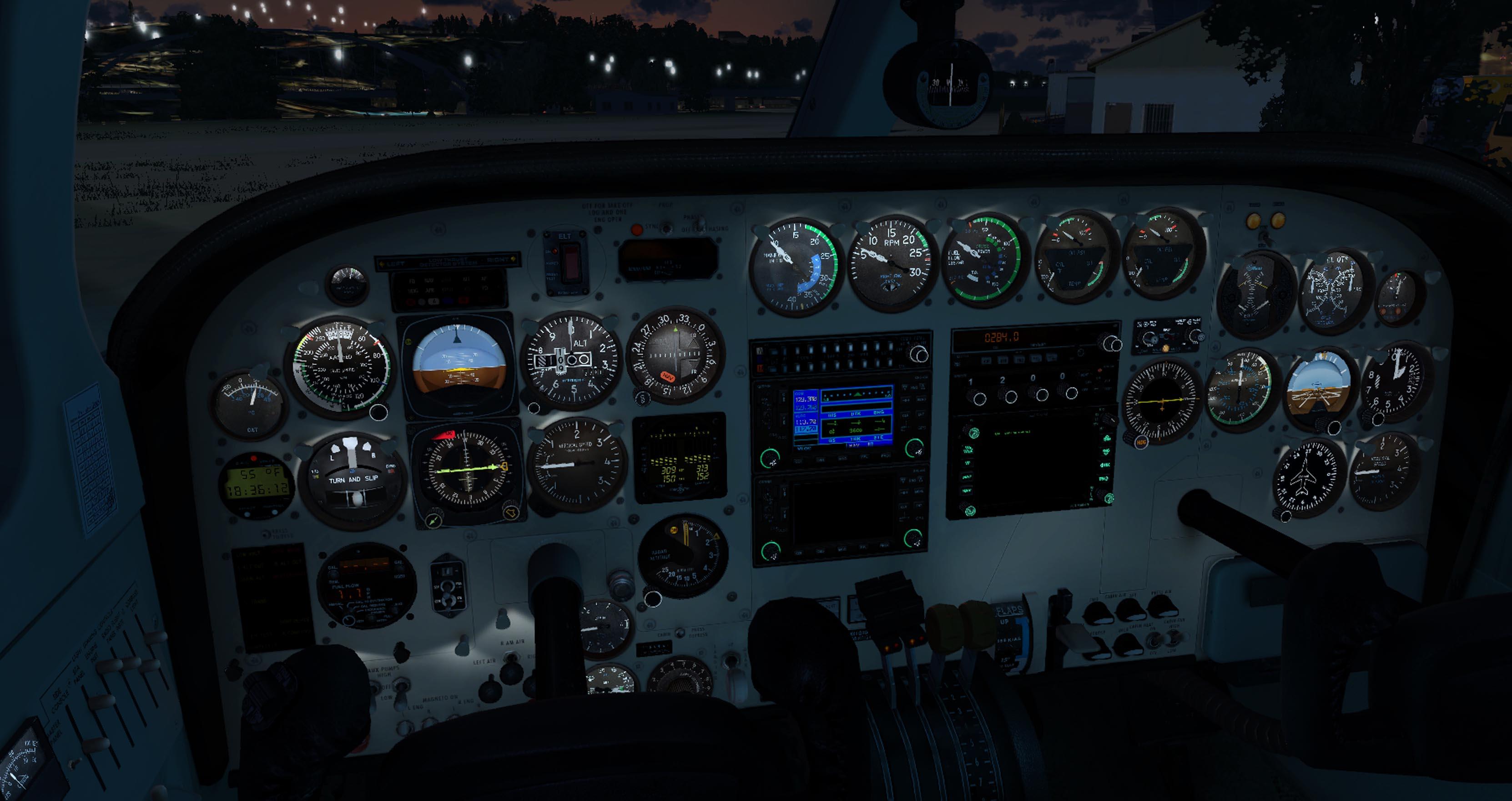 Nachtbeleuchtung
